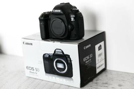 CANON EOS 5D MARK IV - AS NEW (BODY ONLY)