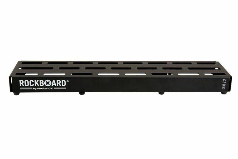Warwick RockBoard DUO 2.2, Pedalboard with Pro Gig Bag