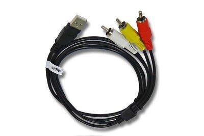 USB auf 3 RCA AV A/V TV adapter Kabel Audio Video Neu Rca Tv-adapter-kabel