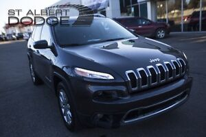2016 Jeep Cherokee LIMITED 4X4 w/ heat+vent leather seats | back