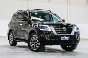 2019 Nissan Patrol Y62 Series 5 MY20 TI Black 7 Speed Sports Automatic Wagon