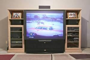 "TV Entertainment / Media Unit INCLUDING 52"" TV Bull Creek Melville Area Preview"