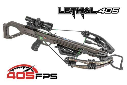 Killer Instinct Lethal 405 4x32 Scope Crossbow Pro Package #1000