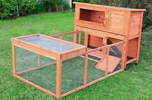 6' 2M RABBIT HUTCH GUINEA PIG CAGE w Plastic tray and Extension Dandenong South Greater Dandenong Preview