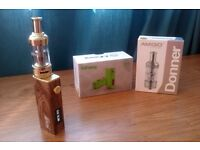 AMIGO iFANCY LIMITED EDITION 40W E SHISHA BOX MOD + AMIGO GOLD SUB TANK