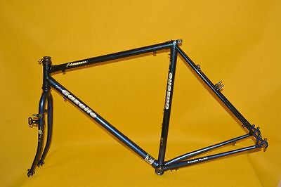 Used, VINTAGE GAZELLE hybrid-x LAUSANNE frame and fork VGC reynolds 531 super tourist for sale  Shipping to Canada