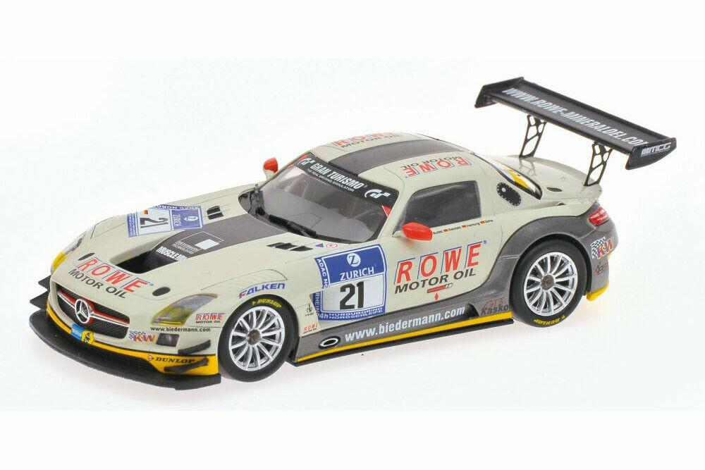 1:43 Mercedes SLS n°21 Nurburgring 2012 1/43 • MINICHAMPS 437123221