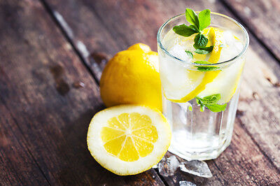 A slice of lemon enhances any drink. Except hot chocolate.