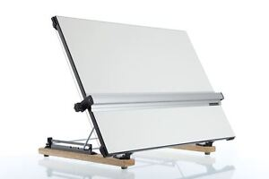 A1 Drawing board Desk top Standard + Handle and mm increments