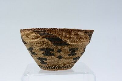 Pit River / Hat Creek  basket with raised center. Dimensions: 3.5