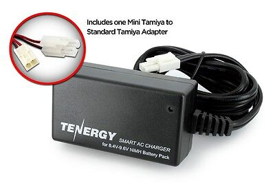 AIRSOFT Smart CHARGER  for 8.4v - 9.6v NiMH Airsoft Batteries + Adapter #80017