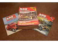 Hot Rod and Street Machine magazines