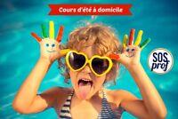 Tutorat à domicile en français, anglais, mathématique, sciences