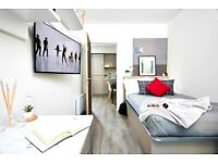 STUDENT ROOM TO RENT IN SHEFFIELD. STUDIO WITH PRIVATE ROOM, PRIVATE BATHROOM AND PRIVATE KITCHEN