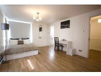 En-suite double bedroom available in Canary Wharf.