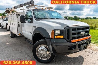 2007 Ford F550 Super Duty XL Used Utiltiy service mechanic truck utility crane