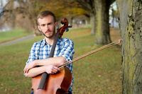 Cello Lessons- 5 spots remaining for Fall 2014!
