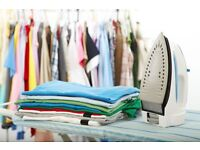 Ironing service, pick up and return, fast ironing