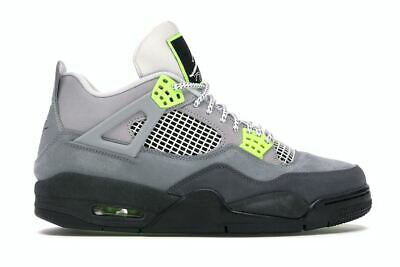 2020 Nike Air Jordan 4 Retro SE 95 Neon Sizes 8-13 OG CT5342-007