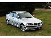 2002 BMW 330D AUTOMATIC LOW MILES CLEAN EXAMPLE SERVICE HISTORY! DIESEL 320d E46 M SPORT