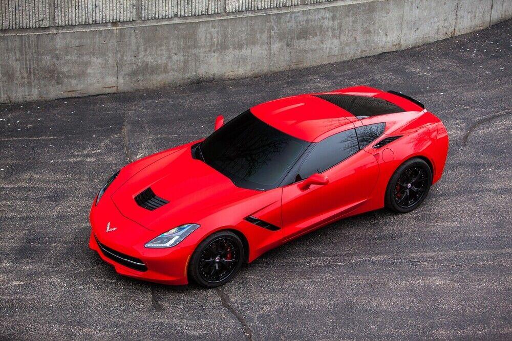 2014 Red Chevrolet Corvette  2LT | C7 Corvette Photo 3