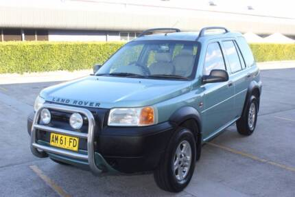 1998 LAND ROVER FREELANDER 2.0L TURBO DIESEL 5 SPEED WAGON St Clair Penrith Area Preview