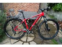 Upgraded TREK Marlin 5 hard tail 29er mountian bike SLX drive train etc - good condition.
