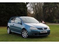 VOLKSWAGEN GOLF 2.0 FSI GT LOW MILES! PRISTINE CAR! CAM BELT DONE! GTI 3DR MOT NO ADVISORIES