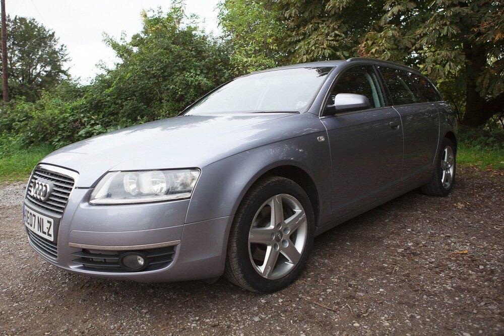 Audi A6 Avant 2.0tdi (auto tiptronic) Silver/Blue