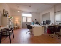 Beautiful B1 commercial space offered for rent in a private gated mews moments from Broadway Market
