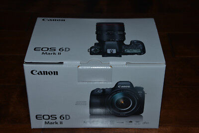 BRAND NEW Canon EOS 6D Mark II Digital SLR Camera Body