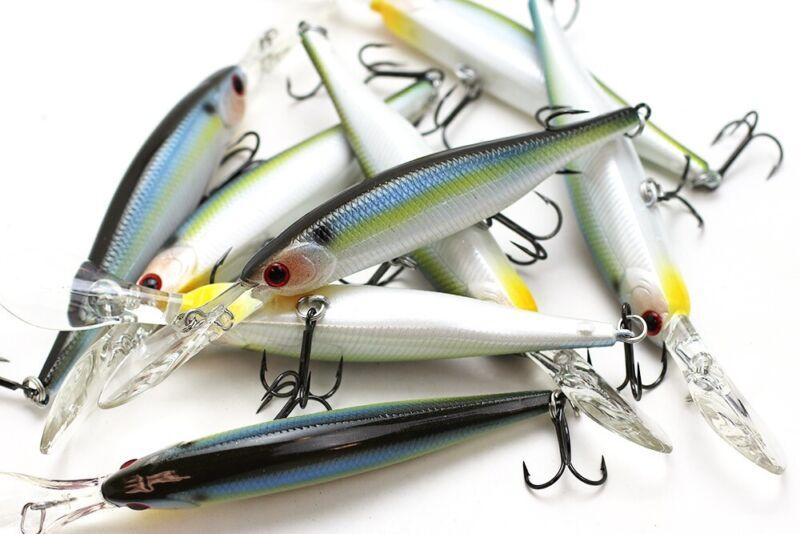 LUCKY CRAFT Sammy 100-183 Pearl Threadfin Shad