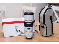 Canon EF 300mm f/4L IS USM (£750 ONO)