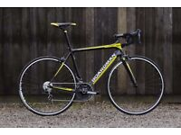 GREAT CHRISTMAS PRESENT MINT CONDITION CARBON ROAD BIKE + EXTRAS!
