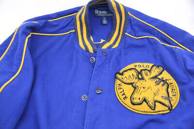Polo Ralph Lauren Sportsman Pine Lake Varsity Jacket Large