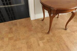 Cork Flooring  – Carpet Alternative for Allergy Relief - naturally soft, quiet, antistatic, clean, no dust, no allergens