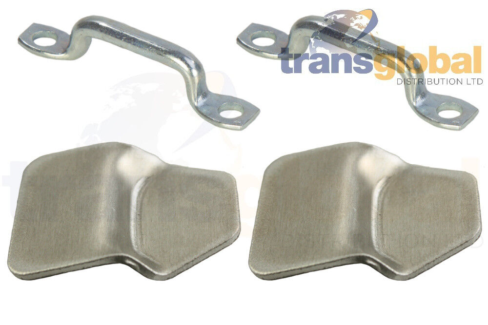 Land Rover Series 1 3 Canvas Top Cleats 301328 X2 Rope Clamps RRC3966 X2 2a