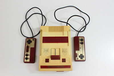 Original Nintendo Famicom Console Only FC Japan Import US Seller FK042 D