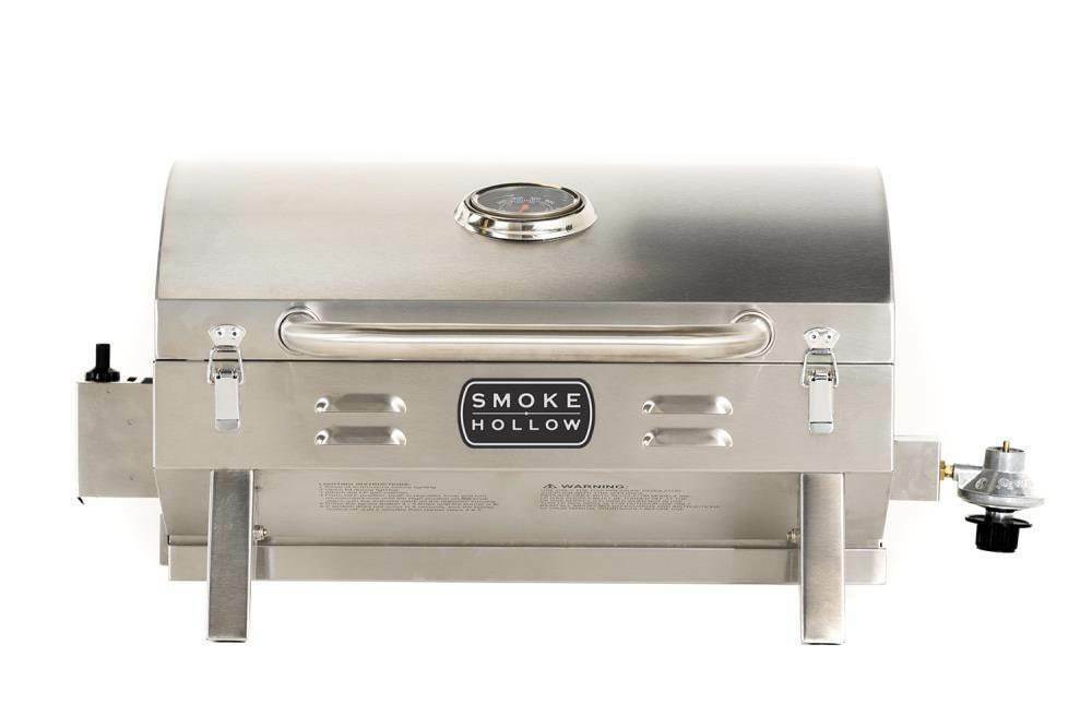 Gas Grill Compact Stainless Steel 1 Burner Liquid Propane Ou