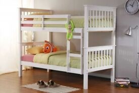 ORDER NOW SUPR STYLISH WOODEN BUNK BED BRAND NEW SAME DAY EXPRESS DELIVERY ALL OVER LONDON AND KENT