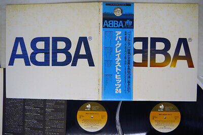ABBA GREATEST HITS DISCO MATE DSP-3013 Japan OBI VINYL 2LP