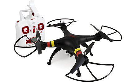 Syma X8W Black 4 Channel Wifi FPV  Drone with Camera 2.4 Ghz Quadcopter