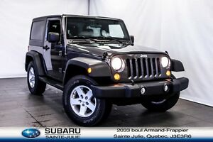 2014 Jeep Wrangler 4X4 SPORT 2 TOITS A/C *** ONLY 101$/WEEK ALL