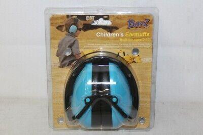 Banz Childrens Earmuffs for Ages 2-10 Blue