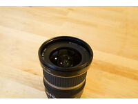 Canon EF-S 10-22mm f/3.5-4.5 USM Lens and hood