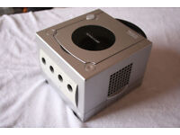 Nintendo Gamecube for sale, SILVER, complete with silver controller. Games available in my other ads