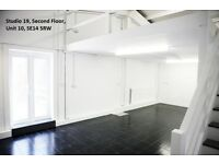 Studio availabilty in Unit 10, off Juno Way, SE14 5RW: Suit Creatives/Artists/SMES/Desk Spaces