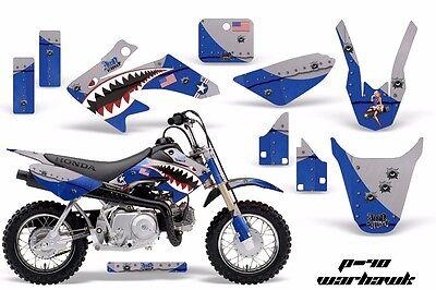 Dirt Bike Decal Graphic Kit MX Sticker Wrap For Honda CRF50 2014-2018 WARHAWK U