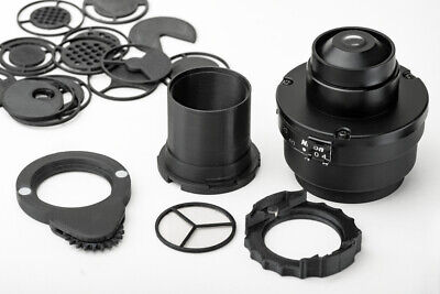 Nikon Eclipse microscope condenser darkfield polarizing oblique insert set  segunda mano  Embacar hacia Argentina