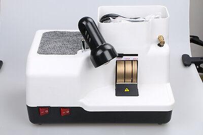 Optical Hand Edger - Manual Lens Grinder Lens Grinding Machine 3 Wheels Dc 110v